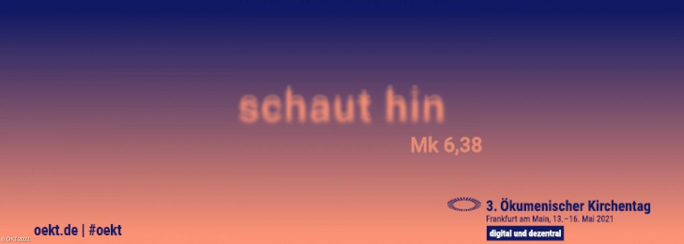 ÖKT Banner in blau orange